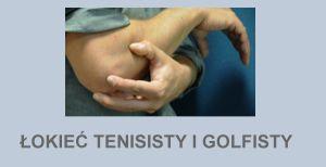 Łokieć tenisisty Łokieć golfisty