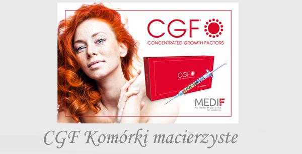 cgf czynniki wzrostu komórki macierzyste CD34+ resurfacing odnowa twarz twarzy osocze bogatopłytkowe